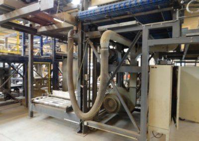 1209 Palletiseer machine lijn